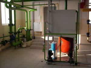 Крышная котельная тепловой мощностью 1,86 МВт жилого дома по адресу г. Саратов, ул. Вольский пер, 15