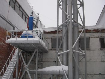 Производственная котельная ОАО «Арктика»по адресу: г. Энгельс пр. строителей, 42